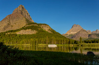 Shuttle Boat on Swiftcurrent Lake