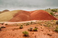 Painted Cove of the Painted Hills - John Day Fossil Beds